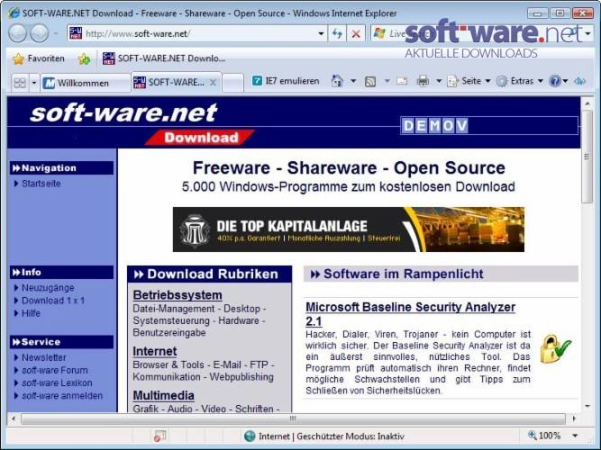 neuen internet browser