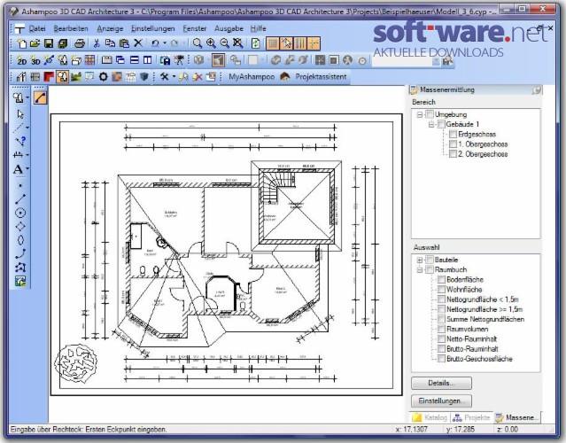 Ashampoo 3D Cad Architecture 3.0.2 - Download (Windows / Deutsch