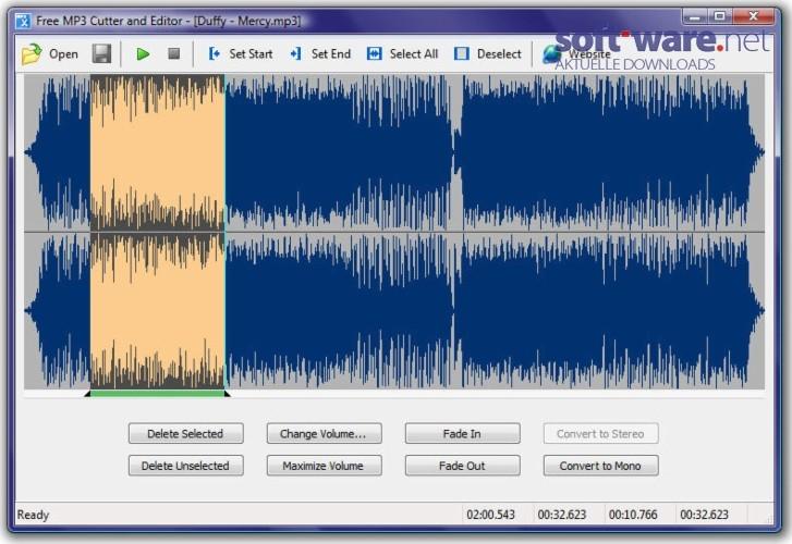 Free MP3 Cutter and Editor - Download (Windows / Deutsch