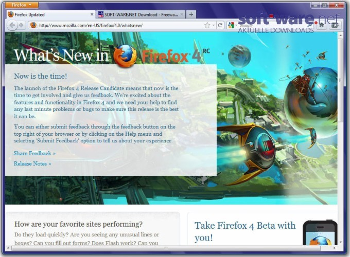 Mozilla Firefox 4 0 1 - Download (Windows / Deutsch) bei SOFT-WARE NET