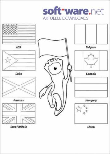 Nett Länderflaggen Malvorlagen Zeitgenössisch - Beispiel ...