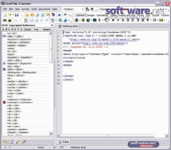 acehtml freeware