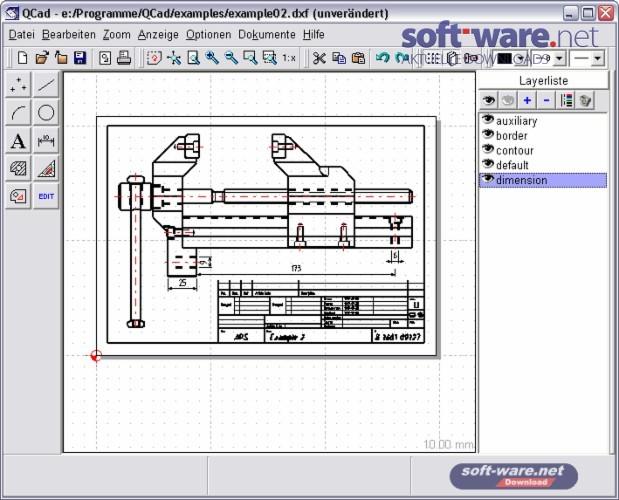 QCad 1.5.1 - Download (Windows / Deutsch) bei SOFT-WARE.NET