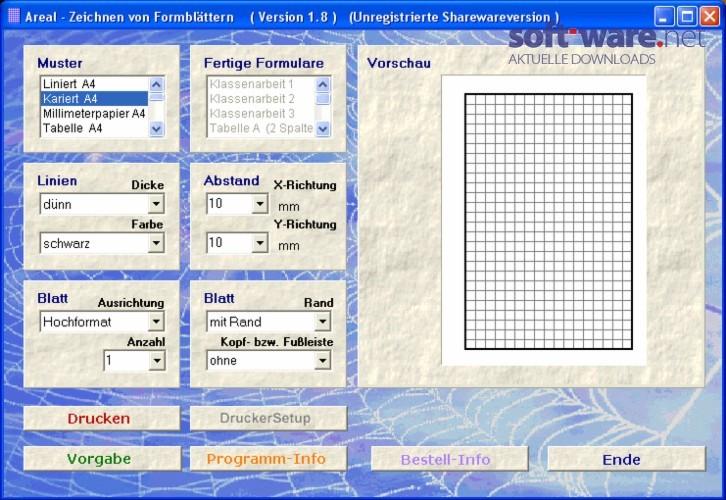 Areal Druck Millimeterpapier 1 9 6 Download Windows Deutsch