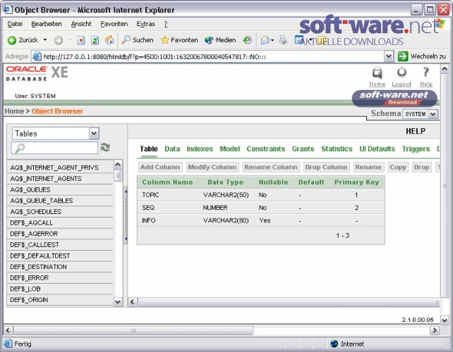 Oracle Database 10g Express Edition 10 2 0 1 - Download (Windows