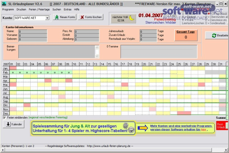 URLAUBSPLANER 2013 PDF DOWNLOAD