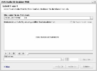 Audio CD Grabber Screenshot