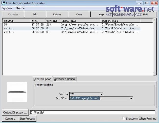 freestar free video converter download windows