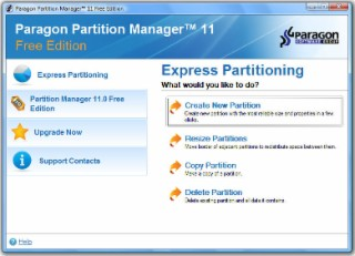Partition Manager Screenshot