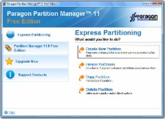 Paragon Partition Manager Free 11.0
