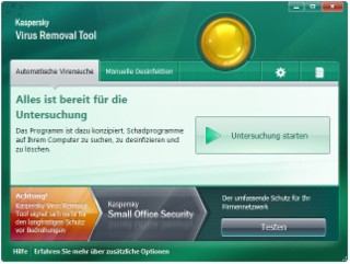 Kaspersky Tool Screenshot