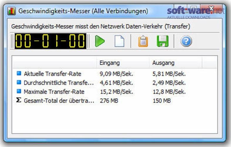WatFile.com Download Free NetWorx - Download (Windows Deutsch) bei SOFT-WARE NET