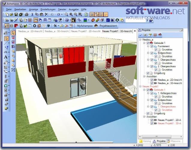 Ashampoo 3d cad architecture 3 0 2 download windows for 3d cad programm freeware