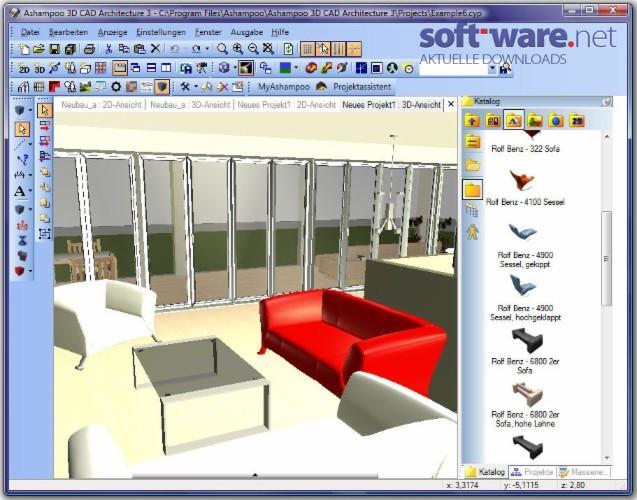 Кряк Ashampoo 3D Cad Architecture