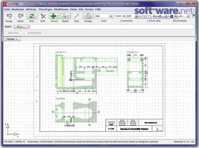 cademia download windows deutsch bei soft ware net. Black Bedroom Furniture Sets. Home Design Ideas