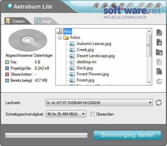 astroburn lite 1 5 0 download windows deutsch bei soft ware net. Black Bedroom Furniture Sets. Home Design Ideas