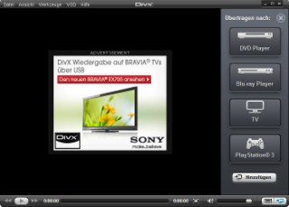 DivX Plus Screenshot