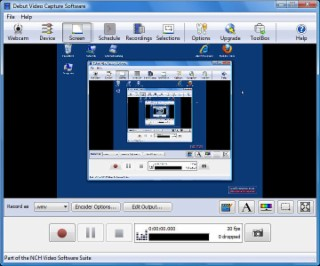 Debut Video Capture Screenshot
