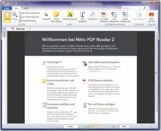 Nitro PDF Reader Screenshot