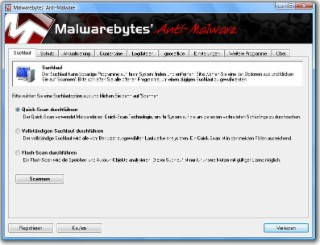 Anti-Malware Screenshot