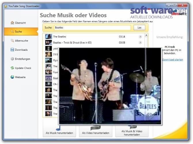 youtube songs herunterladen