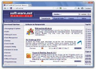 Firefox 9 Screenshot
