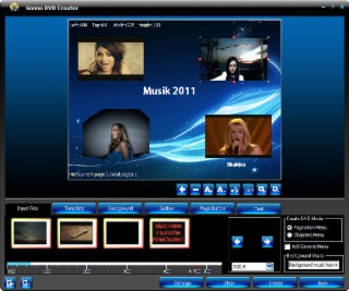Sonne DVD Creator Screenshot