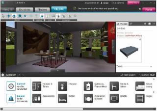 Roomeon 1 4 download windows deutsch bei soft ware net for Wohnungseinrichtung planer