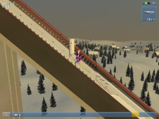 Deluxe Ski Jump Screenshot