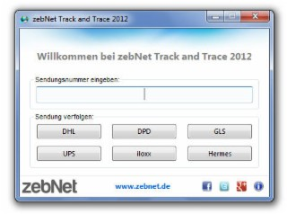 Track and Trace Screenshot