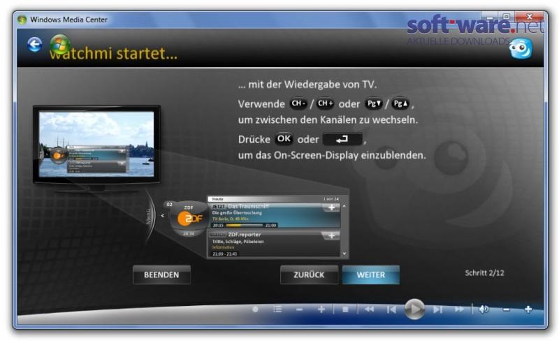 Watchmi download windows deutsch bei soft ware net - Antenne tv surf ...
