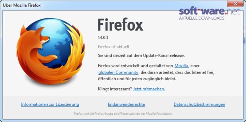 Mozilla Firefox 14.0.1 - Download (Windows / Deutsch) bei