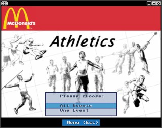 McDonald's Athletics Screenshot