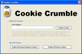 CookieCrumbler Screenshot