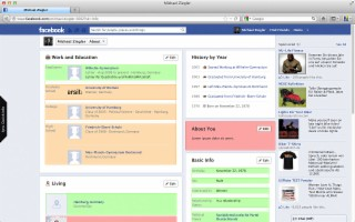 Facebook Privacy Watcher Screenshot