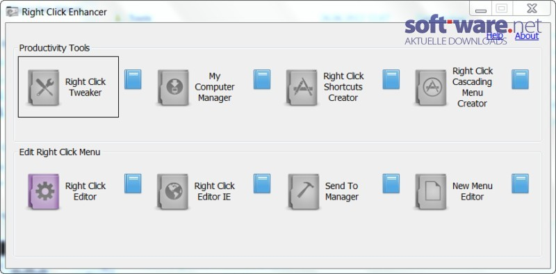 WatFile.com Download Free Right Click Enhancer - Download (Windows Deutsch) bei SOFT-WARE NET