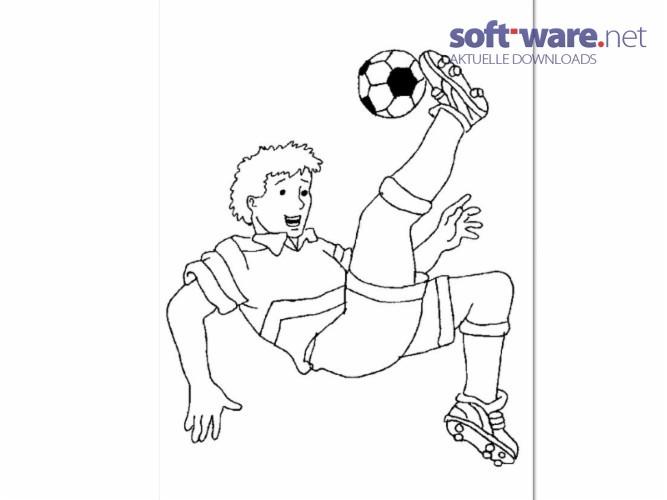 Fußball Ausmalbilder Download Windows Deutsch Bei Soft Warenet