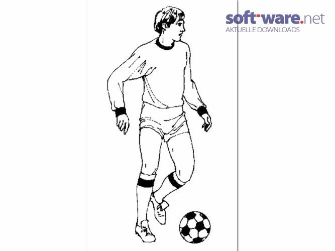 Fußball Ausmalbilder - Download (Windows / Deutsch) bei SOFT-WARE.NET