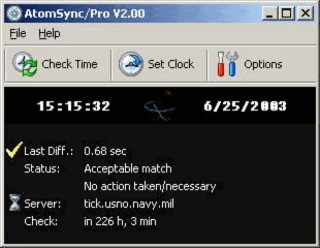AtomSync Screenshot