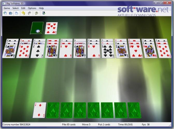 solitär kartenspiel kostenlos spielen