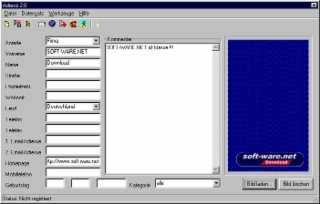 Adressi Screenshot
