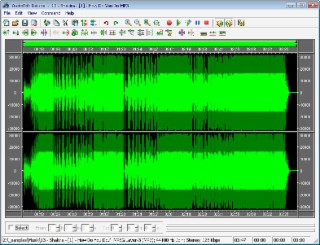 AudioEdit Screenshot
