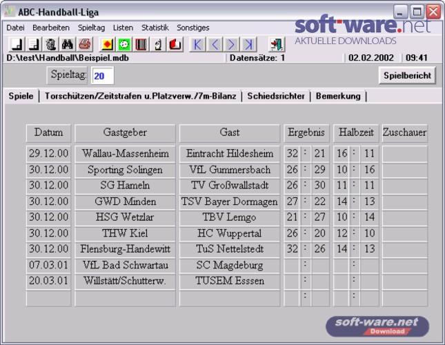 Abc handball liga 3 1 download windows deutsch bei for Tabelle zweite liga