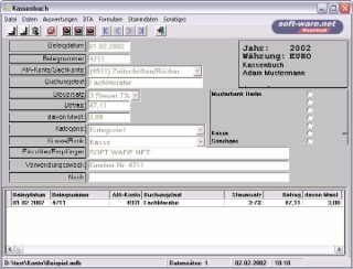 ABC-Konto/Kasse Screenshot