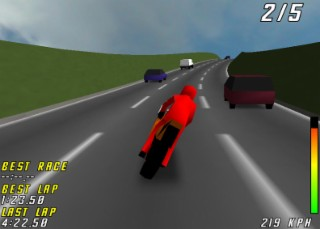 Slalom Highway Screenshot