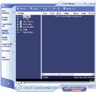 Media Player 9 XP Screenshot
