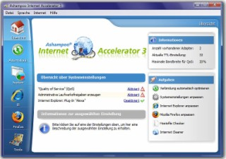 Inet Accelerator Screenshot