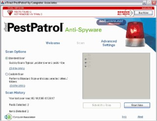 PestPatrol Screenshot