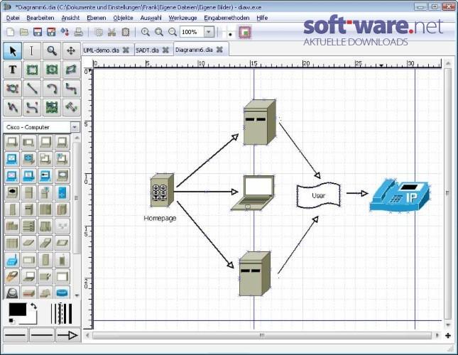 Dia Diagram Editor 0 97 2 Manual Guide