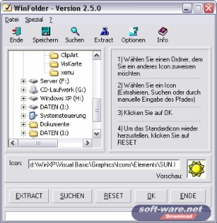 WinFolder Screenshot